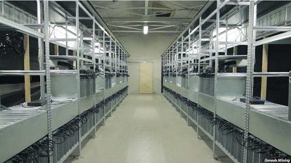 أكبر منجم تعدين بيتكوين في العالم