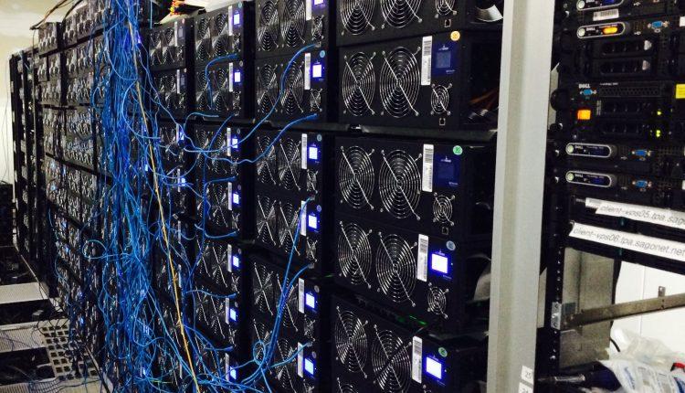 سرقة عدد كبير من أجهزة تعدين البيتكوين