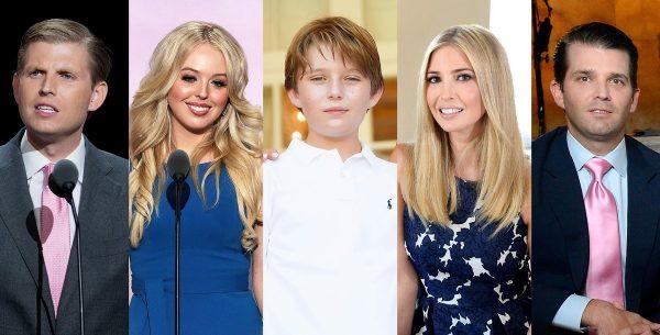 أسرة الرئيس ترامب
