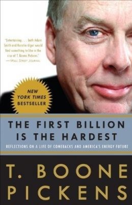 كتاب المليار الأول هو الأصعب لرائد الأعمال بون بيكينز