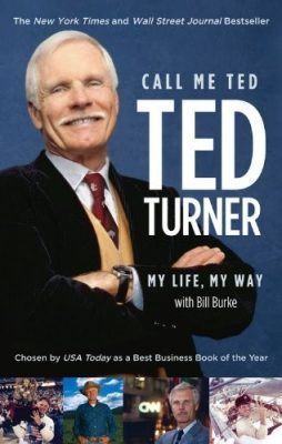 كتاب نادني بإسمي تيد لرجل الأعمال الأمريكي تيد تيرنر