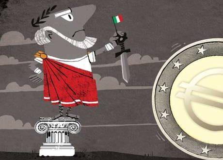 ايطاليا والاتحاد الاوروبي
