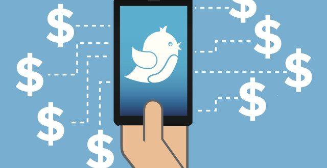 ربح المال من تويتر