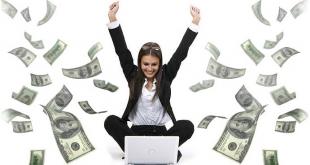 طرق حقيقية لكسب المال من المنزل