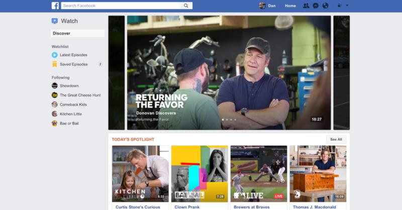 الفيسبوك يطلق خدمة مشاهدة الفيديو على مستوى العالم