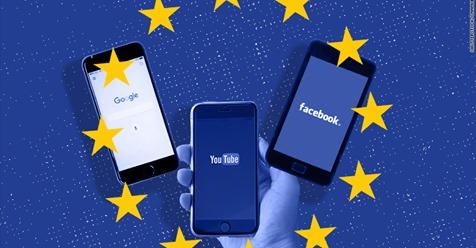 البرلمان الاوروبي يصوت على قانون يجبر مواقع الانترنت على حظر المحتوى المحمي بحقوق الطبع والنشر