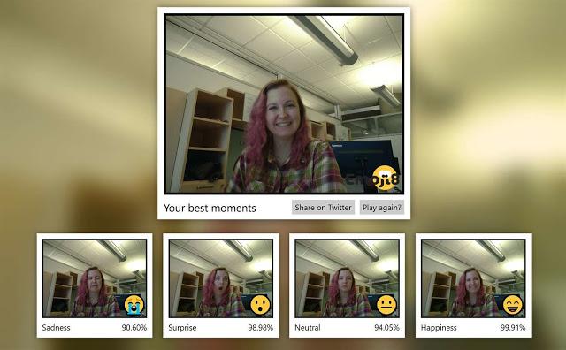 برنامج تحويل تعبيرات الوجه الي ايموجي من مايكروسوفت