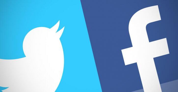 تويتر والفيسبوك يحفزا السلوك السلبي
