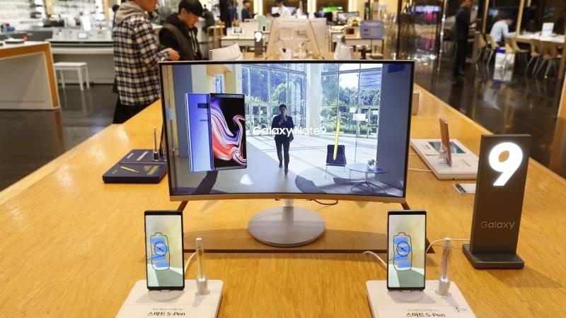 اطلاق تلفزيون سامسونج يعرض تطبيق اى تيونز