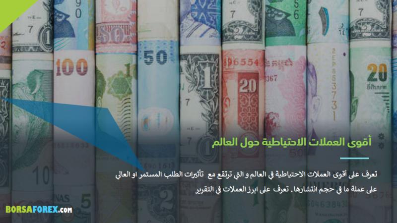 تعرف على أقوى العملات الاحتياطية في العالم - Borsaforex ...